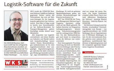 IOVAVUM Business Software in der Salzburger Wirtschaft