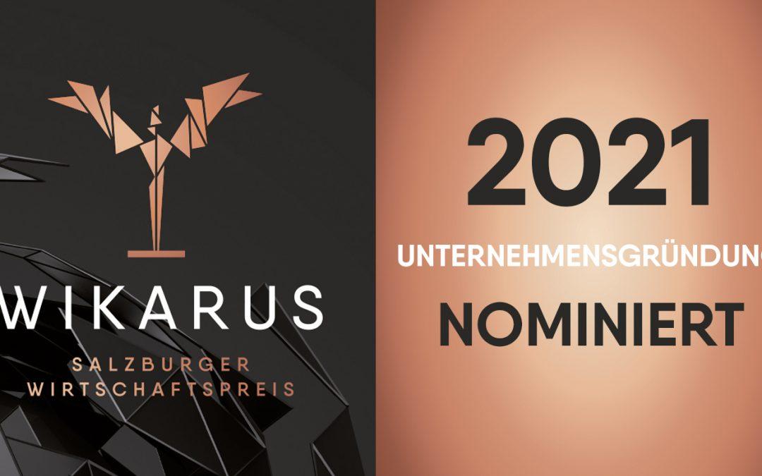 Für den WIKARUS 2021 nominiert!